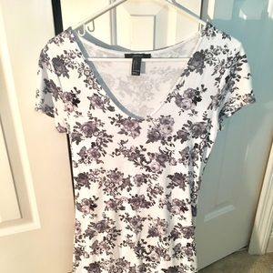 Floral Dress (runs SM/med) forever 21 bodycon